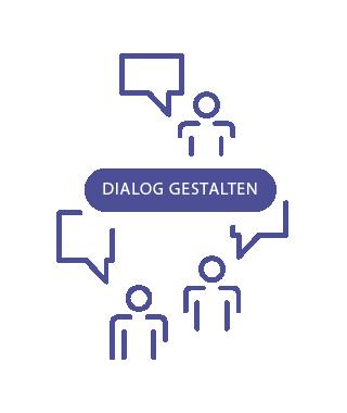 dialog gestalten - link zu Veranstaltungen